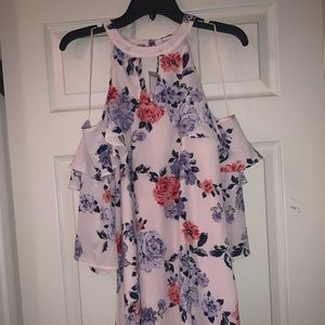 *NEVER WORN* Candie's Off the Shoulder Dress
